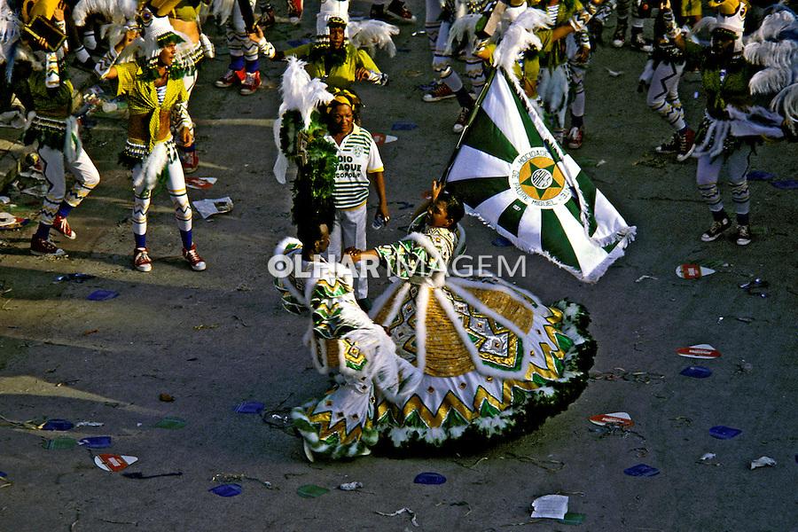Desfile de carnaval da Padre Miguel. Rio de Janeiro. I987. Foto de Juca Martins.