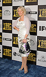 LOS ANGELES, CA. - March 05: Actress Helen Mirren arrives at the 25th Film Independent Spirit Awards held at Nokia Theatre L.A. Live on March 5, 2010 in Los Angeles, California.