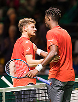 Rotterdam, The Netherlands, 12 Februari 2019, ABNAMRO World Tennis Tournament, Ahoy, first round singles: Gael Monfils (FRA) - David Goffin (BEL),<br /> Photo: www.tennisimages.com/Henk Koster