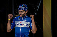 Fernando Gaviria (COL/Quick Step Floors) on the podium after winning his 2nd Tour stage<br /> <br /> Stage 4: La Baule > Sarzeau (192km)<br /> <br /> 105th Tour de France 2018<br /> ©kramon