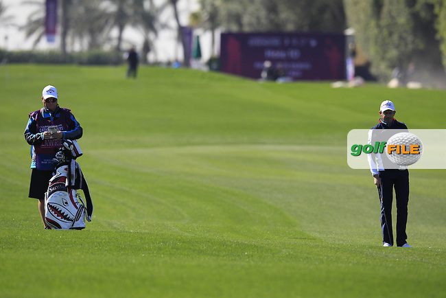 Peter LAWRIE (IRL) on the 10th hole during Wednesday's Round 1 of the 2015 Commercial Bank Qatar Masters held at Doha Golf Club, Doha, Qatar.: Picture Eoin Clarke, www.golffile.ie: 1/21/2015