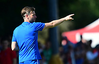 Lincoln City's assistant manager Nicky Cowley<br /> <br /> Photographer Chris Vaughan/CameraSport<br /> <br /> Football - Pre-Season Friendly - Lincoln United v Lincoln City - Saturday 8th July 2017 - Sun Hat Villas Stadium - Lincoln<br /> <br /> World Copyright &copy; 2017 CameraSport. All rights reserved. 43 Linden Ave. Countesthorpe. Leicester. England. LE8 5PG - Tel: +44 (0) 116 277 4147 - admin@camerasport.com - www.camerasport.com