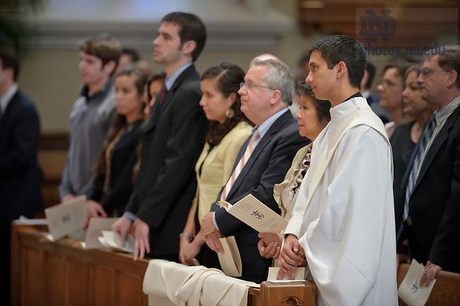 Apr. 14, 2012; Rev. Matthew Kuczora, C.S.C...Photo by Matt Cashore/University of Notre Dame