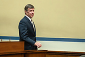 Vice Admiral Joseph Maguire (US Navy retired), acting Director of National Intelligence, arrives to give testimony before the US House Permanent Select Committee on Intelligence on the  Whistleblower Complaint on Capitol Hill in Washington, DC on Thursday, September 26, 2019.<br /> Credit: Ron Sachs / CNP<br /> (RESTRICTION: NO New York or New Jersey Newspapers or newspapers within a 75 mile radius of New York City)