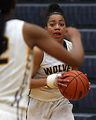 West Bloomfield at Clarkston, Girls Varsity Basketball, 1/20/14