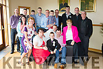 Jonathan Moriarty from Spa road Tralee after making his First Communion in ST Brendan's church with Holy Family NS on Saturday celebrates with family and friends at Kerins O'Rahillys clubhouse