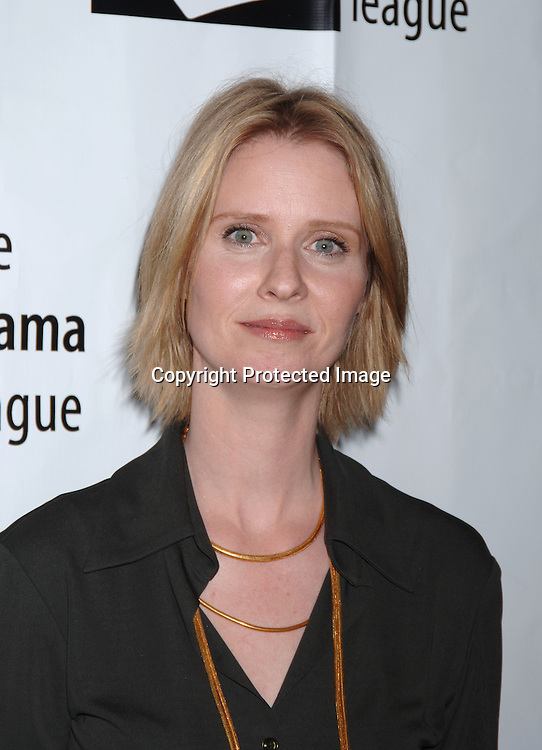 Cynthia Nixon ..at The 72nd Annual Drama League AwardsCeremony and s Luncheon on May 5, 2006 at The Marriott Marquis Hotel in New York. ..Robin Platzer, Twin Images