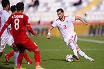 Ehsan Haji Safi of Iran runs with the ball during the AFC Asian Cup UAE 2019 Group D match between Vietnam (VIE) and I.R. Iran (IRN) at Al Nahyan Stadium on 12 January 2019 in Abu Dhabi, United Arab Emirates. Photo by Marcio Rodrigo Machado / Power Sport Images
