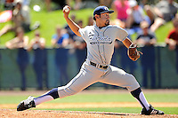22 May 2010:  FIU's Jorge Marban (33) pitches in the sixth inning as the Florida Atlantic University Owls defeated the FIU Golden Panthers, 14-10, at FAU Stadium in Boca Raton, Florida.