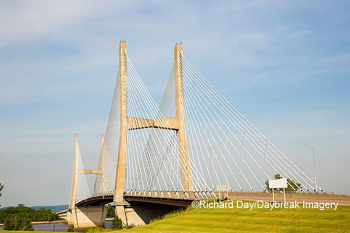 65095-02601 Bill Emerson Memorial Bridge over Mississippi River Cape Girardeau, MO