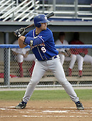 August 23, 2004:  David Corrente of the Auburn Doubledays, Short-Season Single-A affiliate of the Toronto Blue Jays, during a game at Dwyer Stadium in Batavia, NY.  Photo by:  Mike Janes/Four Seam Images