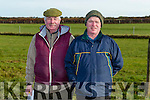 At Ballyduff Coursing on Sunday were Martin and Denis O'Regan, St Brendan's Park Tralee