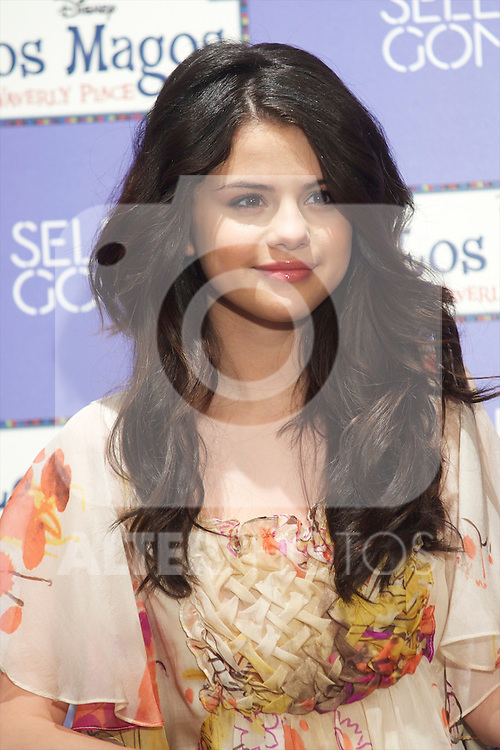 Selena Gomez attends the photocall for the presentation of his album Kiss and Tell in Disney Channel's headquarters in Madrid..Photo: Billy Chappel / ALFAQUI