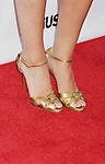 HOLLYWOOD, CA - AUGUST 23: Aly Raisman (shoe detail) at the Los Angeles premiere of 'Bachelorette' at the Arclight Hollywood on August 23, 2012 in Hollywood, California. /NortePhoto.com.... **CREDITO*OBLIGATORIO** *No*Venta*A*Terceros*..*No*Sale*So*third* ***No*Se*Permite*Hacer Archivo***No*Sale*So*third*