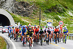 Km0 the start of Stage 3 of the 2018 Artic Race of Norway, running 194km from Honningsvg to Hammerfest, Norway. 18th August 2018. <br /> <br /> Picture: ASO/Pauline Ballet | Cyclefile<br /> All photos usage must carry mandatory copyright credit (© Cyclefile | ASO/Pauline Ballet)