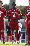 29 November 2009: Indiana's Ofori Sarkodie. The University of North Carolina Tar Heels defeated the Indiana University Hoosiers 1-0 at Fetzer Field in Chapel Hill, North Carolina in an NCAA Division I Men's Soccer Tournament Third Round game.