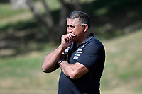 Coach Jamie JOSEPH (ジェイミー・ジョセフ) during the Hurricanes Hinters v Wolfpack at Jerry Collins Stadium, Porirua, New Zealand on Friday 29 March 2019. <br /> Photo by Masanori Udagawa. <br /> www.photowellington.photoshelter.com