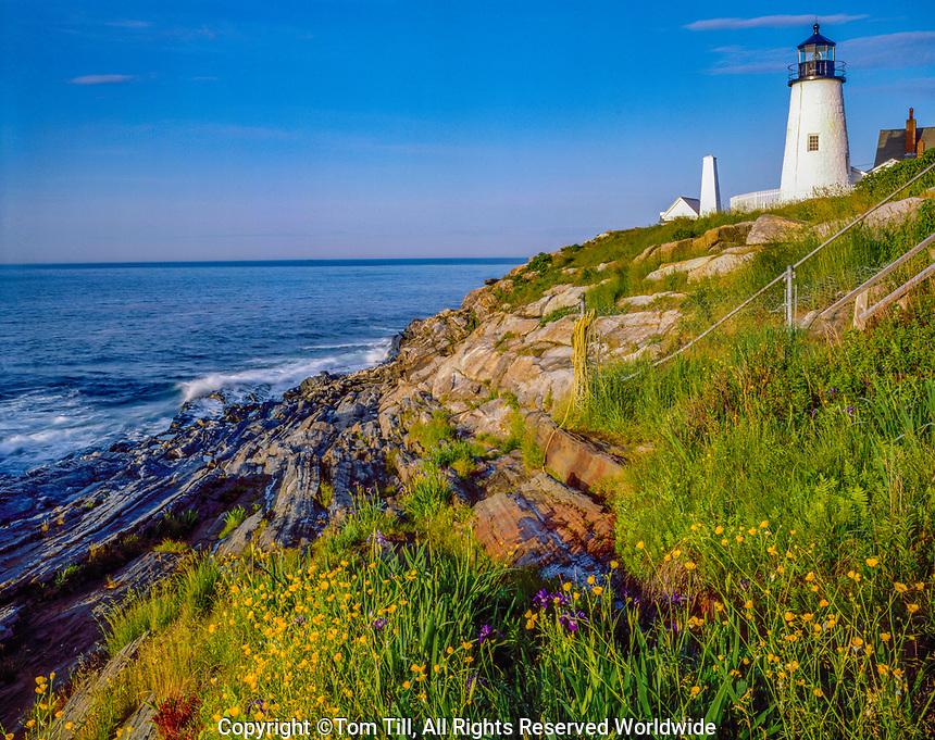 Pemaquid Point Lighthouse, Pemaquid POint, Maine Near Bristol, Maine