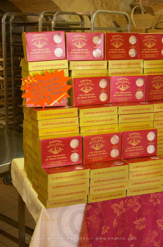 macaron de saint emilion bisquits saint emilion bordeaux france