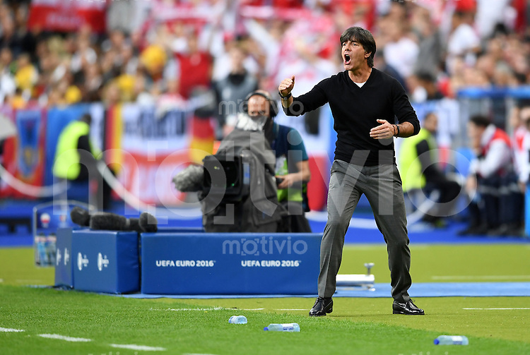 FUSSBALL EURO 2016 GRUPPE C IN PARIS Deutschland - Polen    16.06.2016 Trainer Joachim Loew (Deutschland)