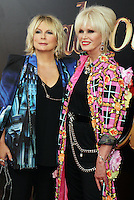 NEW YORK, NY-July 18: Jennifer Saunders, Joanna Lumley at Fox Searchlight Pictures presents premiere of Absolutely Fabulous: The Movie  to talk about  Star Trek Beyond in New York. NY July 18, 2016. Credit:RW/MediaPunch