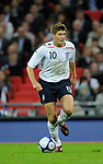 Steven Gerrard of England during the Friendly International match at Wembley Stadium, London. Picture date 28th May 2008. Picture credit should read: Simon Bellis/Sportimage