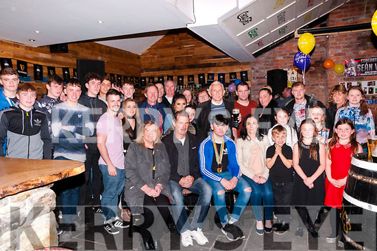 Trojan Boxing Club Celabration : Pictured at the Trojan Boxing Club, Listowel celebration night at the Irish American Bar, Ballybunion on Friday night last were members of the club.