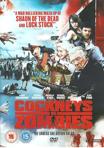 BRITISH DVD COVER ART<br /> in Cockneys vs Zombies (2012) <br /> *Filmstill - Editorial Use Only*<br /> CAP/FB<br /> Image supplied by Capital Pictures