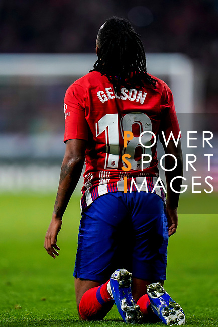 Gelson Martins of Atletico de Madrid reacts during the La Liga 2018-19 match between Atletico de Madrid and RCD Espanyol at Wanda Metropolitano on December 22 2018 in Madrid, Spain. Photo by Diego Souto / Power Sport Images