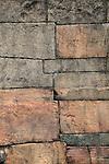 Hatadage building detail, The Quadrangle, UNESCO World Heritage Site, the ancient city of Polonnaruwa, Sri Lanka, Asia