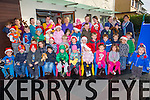 The children of Feale Childcare couting the days till Christmas in Listowel on Tuesday