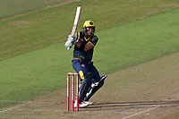Colin Ingram hits 4 runs for Glamorgan during Glamorgan vs Essex Eagles, Vitality Blast T20 Cricket at the Sophia Gardens Cardiff on 7th August 2018