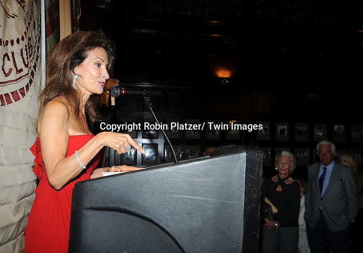 "Susan Lucci at her book signing for her new book ""All My Life""  at The Friars Club in New York City on September 7, 2011."