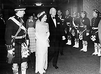 Royal Tours - Queen Elizabeth and Prince Philip (Canada 1973) Toronto<br /> Griffin, Doug