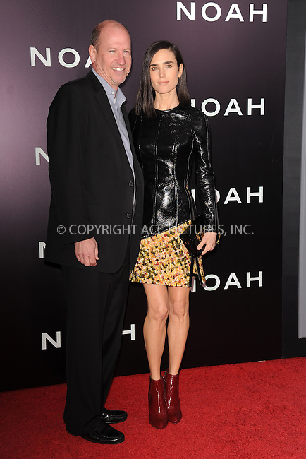WWW.ACEPIXS.COM<br /> March 26, 2014 New York City<br /> <br /> Rob Moore and Jennifer Connelly attending the 'Noah' New York premiere at Ziegfeld Theatre on March 26, 2014 in New York City.<br /> <br /> Please byline: Kristin Callahan<br /> <br /> ACEPIXS.COM<br /> <br /> Tel: (212) 243 8787 or (646) 769 0430<br /> e-mail: info@acepixs.com<br /> web: http://www.acepixs.com