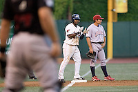 July 15, 2009: Oklahoma City RedHawks' Esteban German during the 2009 Triple-A All-Star Game at PGE Park in Portland, Oregon.