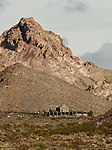 Las Vegas and Tonopah railroad depot in the historic town of Rhyolite, Nevada