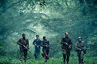 Overlord (2018) <br /> Jovan Adepo as Boyce, Dominic Applewhite as Rosenfeld, Mathilde Ollivier as Chloe, Wyatt Russell as Ford, John Magaro as Tibbet <br /> *Filmstill - Editorial Use Only*<br /> CAP/MFS<br /> Image supplied by Capital Pictures