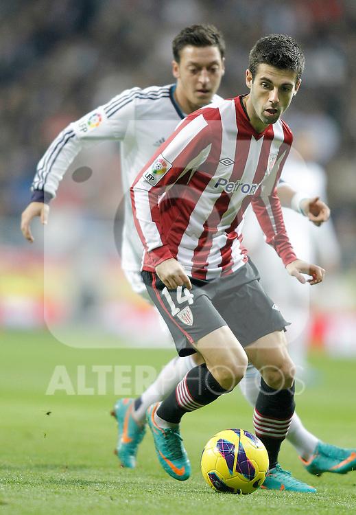 Athletic de Bilbao's Markel Susaeta during La Liga Match. November 17, 2012. (ALTERPHOTOS/Alvaro Hernandez)