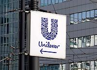 Nederland Rotterdam - 26 maart 2018. Logo van Unilever. Foto Berlinda van Dam / Hollandse Hoogte