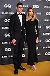 Soccerplayer Alvaro Morata and Alice Campello at photocall for GQ Men of Year Award <br /> Madrid, Spain. <br /> November 21, 2019. <br /> (ALTERPHOTOS/David Jar)