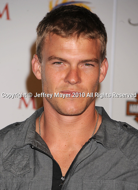 LOS ANGELES, CA. - May 19: Alan Ritchson arrives at the 11th Annual MAXIM HOT 100 Party at Paramount Studios on May 19, 2010 in Los Angeles, California.