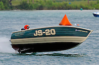 JS-20, Jersey Speed Skiff..10-12 July, 2009, 100th Gold Cup, Detroit River, Detroit, MI USA..©2009 F.Peirce Williams, USA.