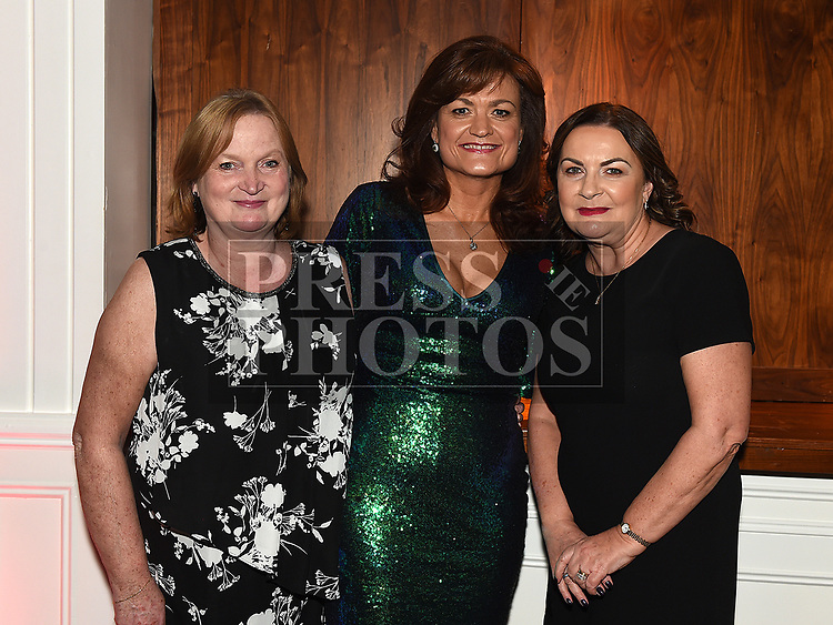 Catherina Branigan, Linda Cross and Peatrice Killorn at the Coca Cola Christmas party in the Westcourt hotel.  Photo:Colin Bell/pressphotos.ie