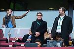 01.05.2019, RheinEnergie Stadion , Köln, GER, 1.FBL, Borussia Dortmund vs FC Schalke 04, DFB REGULATIONS PROHIBIT ANY USE OF PHOTOGRAPHS AS IMAGE SEQUENCES AND/OR QUASI-VIDEO<br /> <br /> im Bild | picture shows:<br /> Toni Schumacher (ehemals 1. FC Köln) ist auf der Ehrentribüne Gast, <br /> <br /> Foto © nordphoto / Rauch