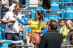 Colombian Crowd during Real Madrid and Sociedad Deportiva Eibar during La Liga match. April 09, 2016. (ALTERPHOTOS/Borja B.Hojas)