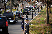 The motorcade carrying United States President Barack Obama and Prime Minister Nouri  al-Maliki of Iraq makes his way to Arlington National Cemetery for a wreath laying ceremony, Monday, December 12, 2011 in Arlington, Virginia..Credit: Olivier Douliery / Pool via CNP