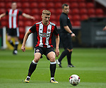 Harvey Gilmour of Sheffield Utd during the U23 Professional Development League Two match at Bramall Lane Stadium, Sheffield. Picture date 18th August 2017. Picture credit should read: Simon Bellis/Sportimage