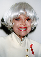 Carol Channing, 1994, Photo By Michael Ferguson/PHOTOlink