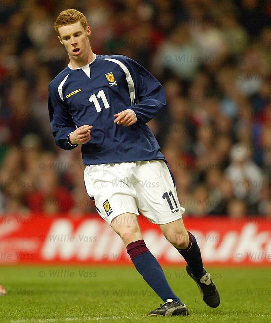 Stephen Pearson, Scotland.Stock Season 2003-2004.pic willie vass